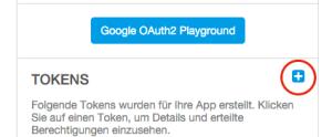 OAuth2 Token erzeugen
